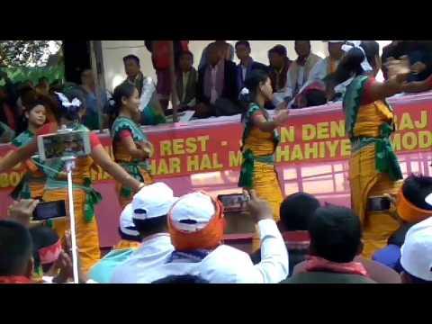 Mahadharna for Bodoland at New Delhi.