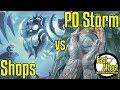 Shops VS PO Storm | Vintage Magic: the Gathering w/Commentary | Brainstorm MTG | Fast Effect