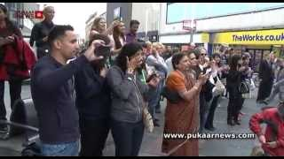 City Flashmob Launches An Indian Summer 2014