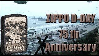 Зажигалка Zippo D-Day 75th Anniversary. Обзор.