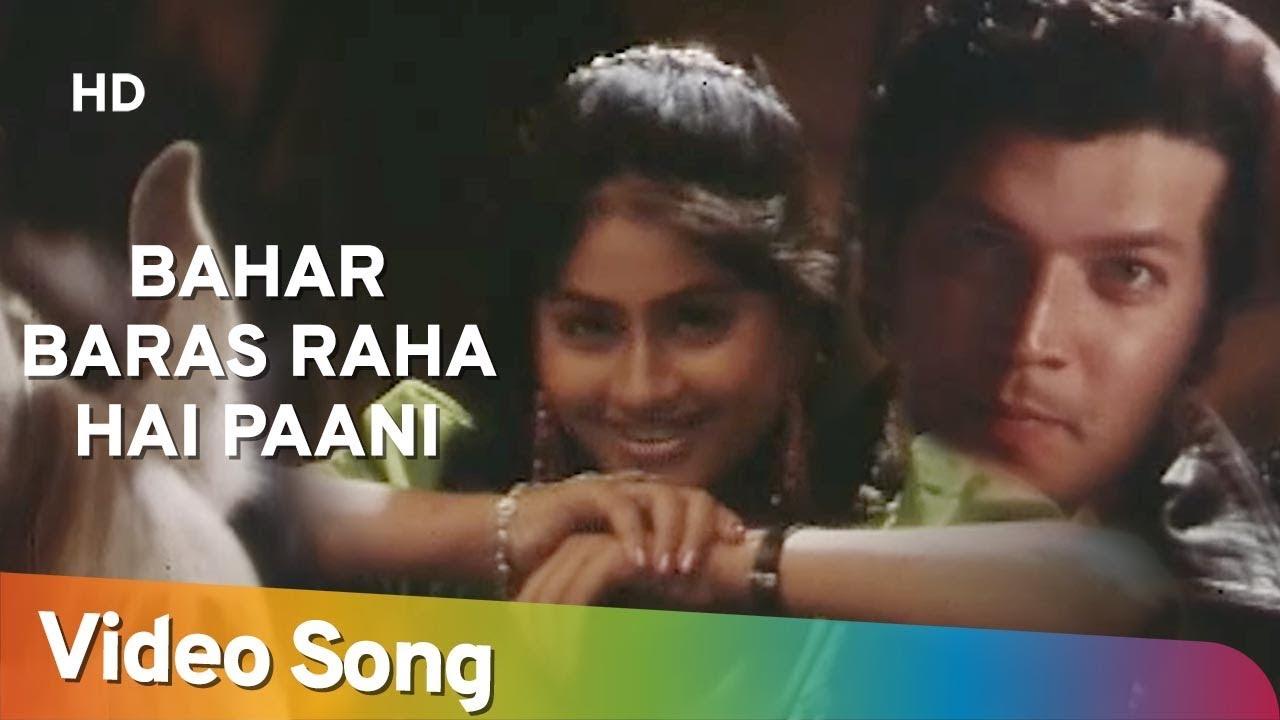 Bahar Baras Raha Hai Paani (HD) | Gundagardi (1997) | Aditya Pancholi | Vijayshanti | Romantic Song