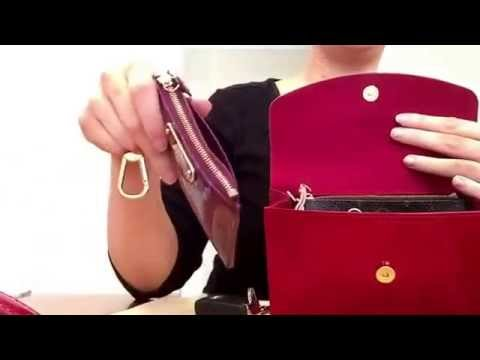 c9054c247ac1 Authentic Louis Vuitton bel air clutch  bag what fits in my bag ...