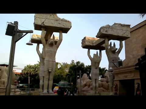 Universal Studios Singapore Ancient Egypt Theme Park  新加坡环球影城-古埃及主题公园