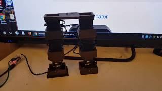 LX16A servo robot controlled using python 2.7 on windows