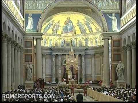 Cardinal Cañizares presents the 'Compendium Eucharisticum'