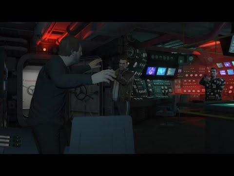 Niko And Roman Bellic Confront Solomun (GTA: Online Cutscene Model Swap Mod)