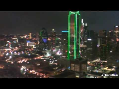 Epic Sunset and Night Tornado in Dallas - May 10, 2016 (with sound)