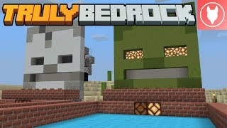 Truly Bedrock SMP S1 : E34 - Finishing the Redstone Archery Game