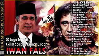 Gambar cover Nostalgia!! IWAN FALS 20 Lagu KRITIK Sosial  Kemanusiaan Untuk INDONESIA AKU