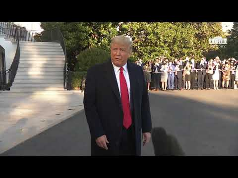 10/21/20: President Trump Delivers Remarks Upon Departure