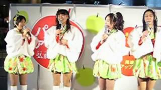 りんご娘 九州初ライブ!! 今度は、2011u.m.u.awardで発表された、新曲の...