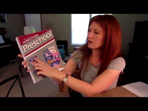 Abeka Homeschool Curriculum for Preschool