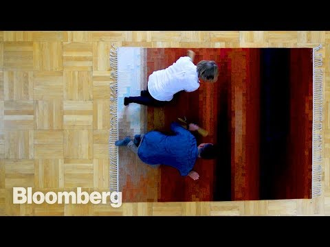 How a $40,000 Carpet Is Made