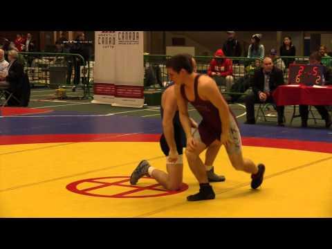 2014 Senior Greco-Roman National Championships: 66 kg Shaun Phillips vs. Joseph Dashou