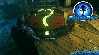 Batman Arkham Knight - Riddler Trial #3 Walkthrough (The Cat and the Bat Trophy / Achievement Guide)