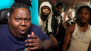 HE DONT MISS!!! Lil Tjay - Not In The Mood (Feat. Fivio Foreign & Kay Flock) REACTION!!!!!