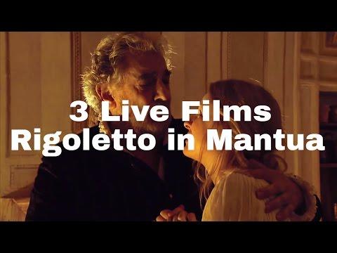 DVD Box - 3 Live Films - Rigoletto in Mantua (Placido Domingo, Zubin Mehta, Marco Bellocchio)