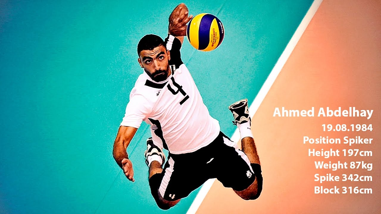Top 15 Best Volleyball Spikes By Ahmed Abdhelay Best Left Handed Volleyball Player Youtube