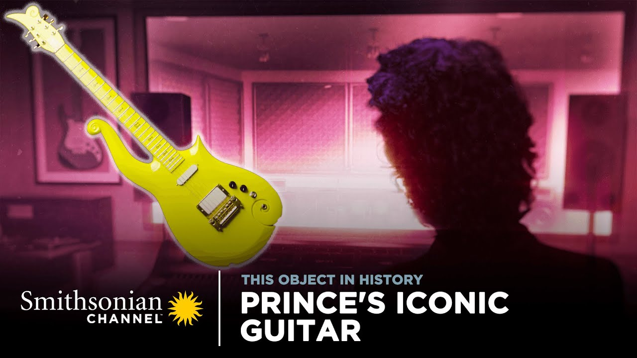 Prince's Iconic Guitar 🎸 This Object in History | Smithsonian Channel