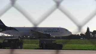 Захват самолёта на Мальте !!! 23.12.2016. Видео с места событий !!!