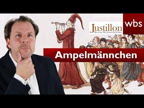 Rattenfänger von Hameln als neues Ampelmännchen illegal? | Rechtsanwalt Christian Solmecke