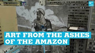 Art from the ashes of the Amazon • FRANCE 24 English