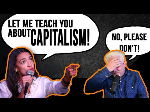 OCASIO CORTEZ TRIES TO TEACH CAPITALISM: AOC says it's not about free market