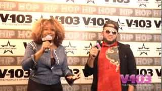 Buttah Man At The V-103 Hip Hop Conference With Ramona DeBreaux
