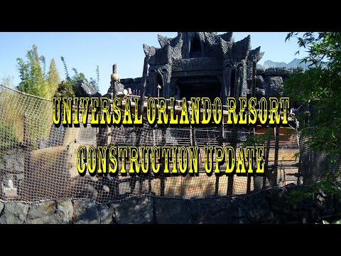Universal Orlando Resort Construction Update 5.9.16 Kong Testing, Hulk Upgrades & More!