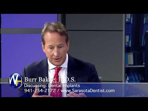 Replace Missing Teeth with Dental Implants with Sarasota, FL dentist Burr Bakke, DDS