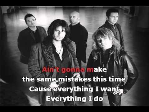 Gotthard - Everything I Want /Lyrics