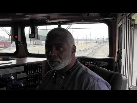 Locomotive Engineer Mike Barnett Final Train Trip