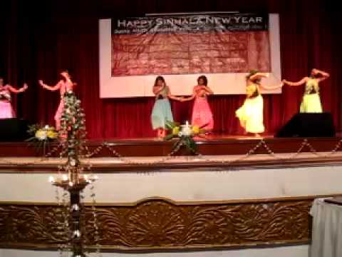 Dance performance, Sinhala New Year Show,2009