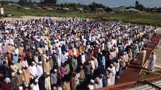 Eid prayer | Eid-ul-Fitr 2013 | Eidgah | Suriname | 720p HD