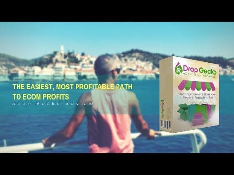 How To Drop Ship with Drop-Gecko Full Tutorial Step By Step,  SHOPIFY KILLER?  You Decide thumbnail