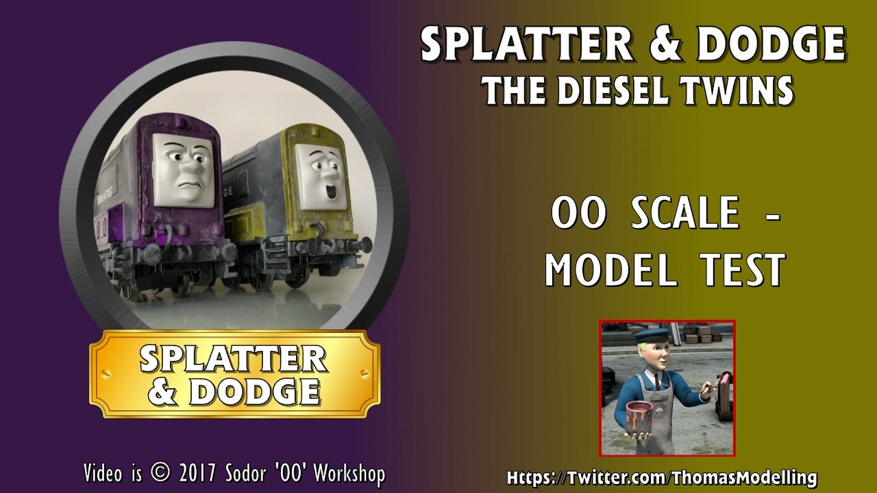 Splatter Dodge OO YouTube