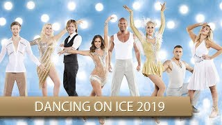 GNTM Model bei DANCING ON ICE 2019