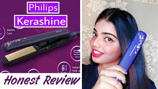 Review On Philips kerashine Hair Straightener.