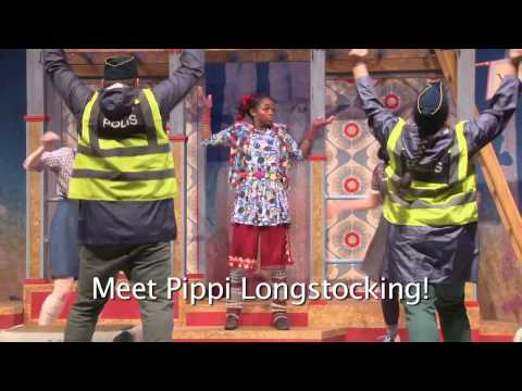 Pippi Longstocking at Bay Area Children's Theatre