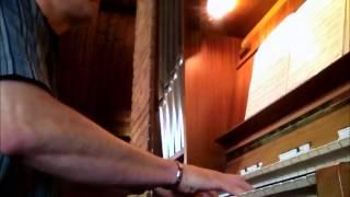 orgelspel dat ons loflied vrolijk rijze