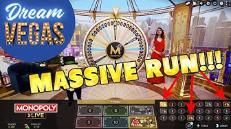 ⚡️ MASSIVE RUN on MONOPOLY LIVE !!! Big Online Casino Win ! ⚡️