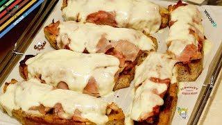 136 - Crostoni di mamma Ombretta..e poi ar mare in biciretta! (ricetta casalinga semplice e gustosa)