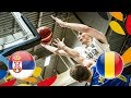 Serbia v Romania - Full Game - Round of 16 - FIBA U20 European Championship 2018