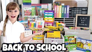 BACK TO SCHOOL Supplies HAUL 🍎  Buying School Supplies for the ENTIRE YEAR!