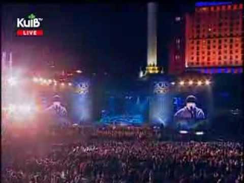 ДДТ на Майдане, Киев 01 01 2013