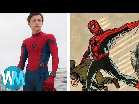 Top 10 Biggest Differences Between Spider-Man Comics And Movies
