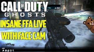 FaZe Rain : INSANE FFA TrickShotting Live Face Cam!