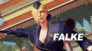 Street Fighter V: Arcade Edition - Falke Gameplay Trailer