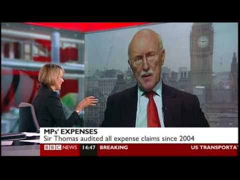 The Minch & Jon Sopel get the giggles after talking to Michael White about MPs expenses (4.2.10)