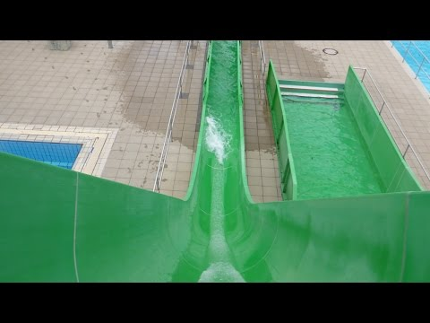 Inselbad Landsberg - Freefall (Kamikaze Speed Slide) Onride